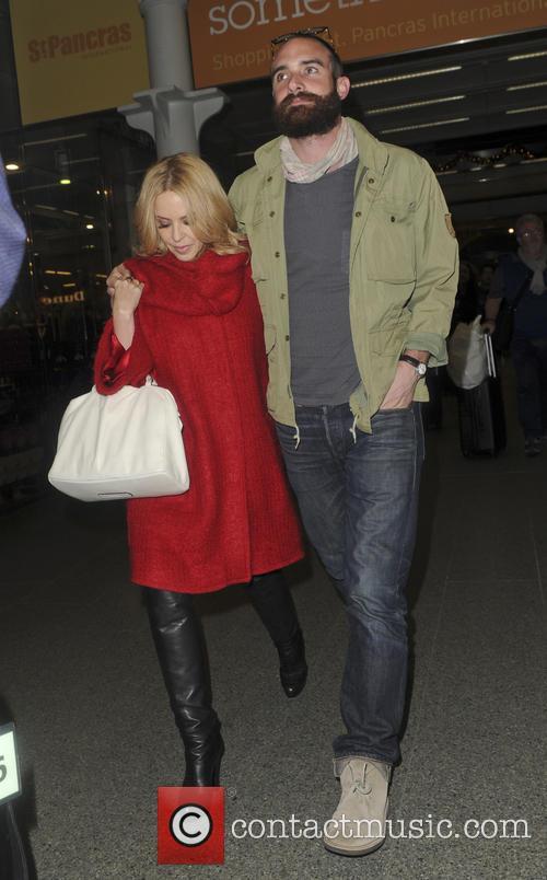Kylie Minogue and boyfriend Joshua Sasse