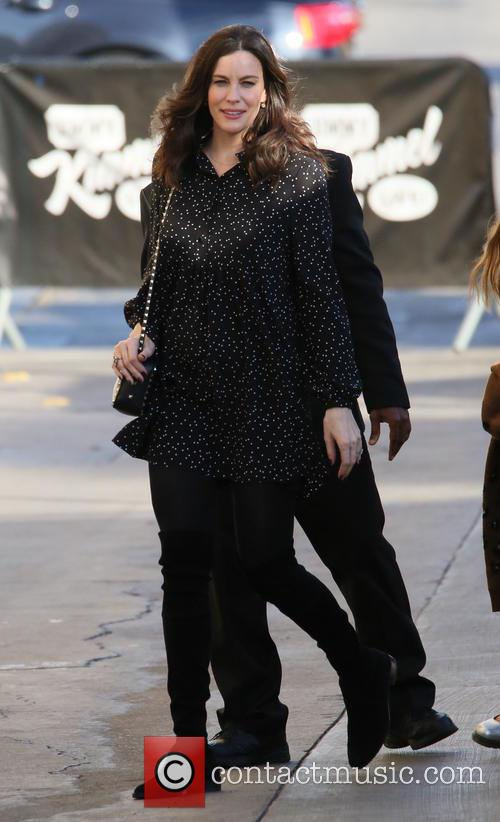 Liv Tyler arrives at the ABC studios for...