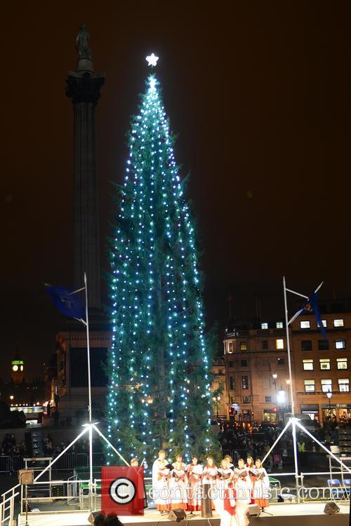 Trafalgar Square Christmas Tree 2