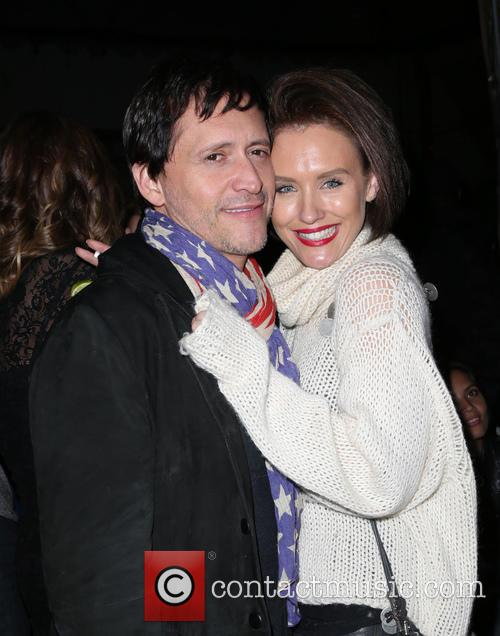 Clifton Collins, Jr. and Nicky Whelan