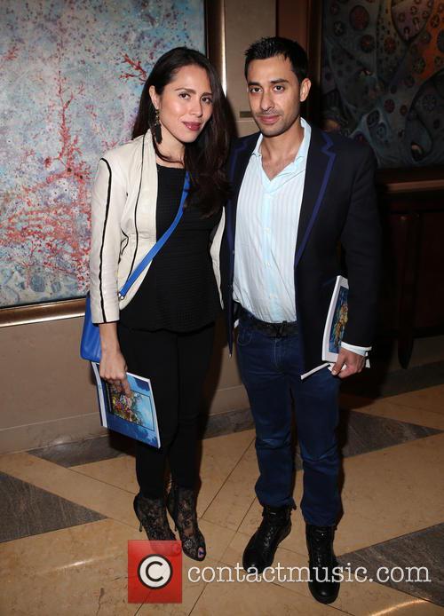 Ms. Vega and Raj 1