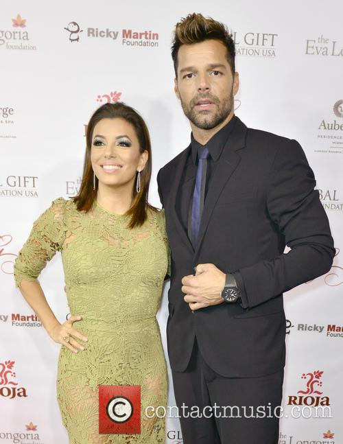 Eva Longoria and Ricky Martin 1