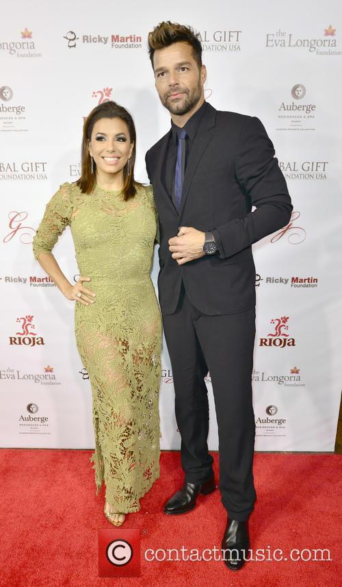 Eva Longoria and Ricky Martin 2