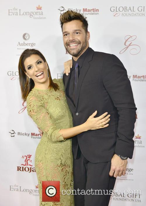 Eva Longoria and Ricky Martin 4