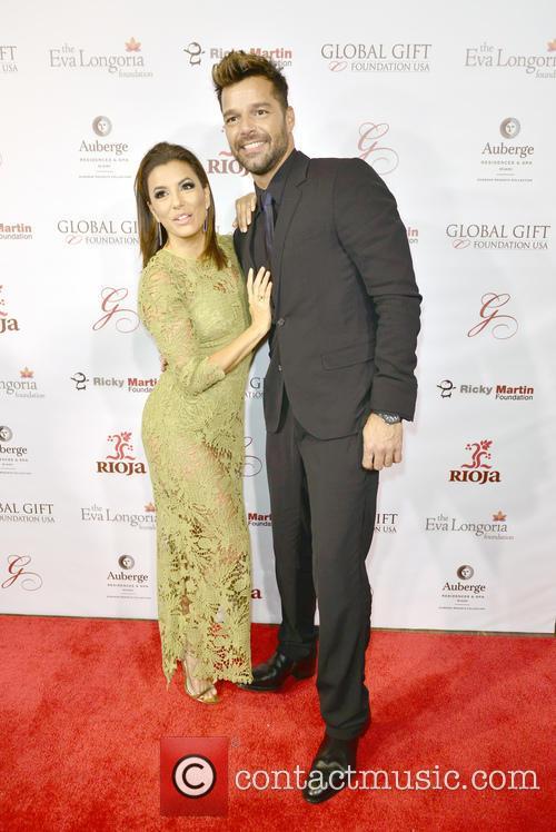 Eva Longoria and Ricky Martin 5