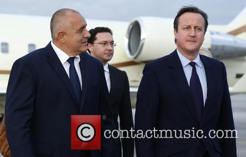 David Cameron and Prime Minister Boyko Borisov 2