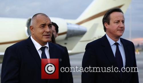 David Cameron and Prime Minister Boyko Borisov 3