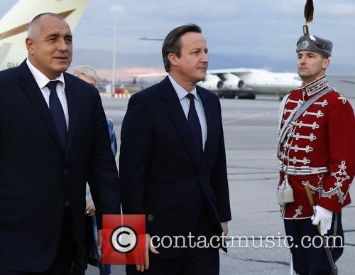 David Cameron and Prime Minister Boyko Borisov 4