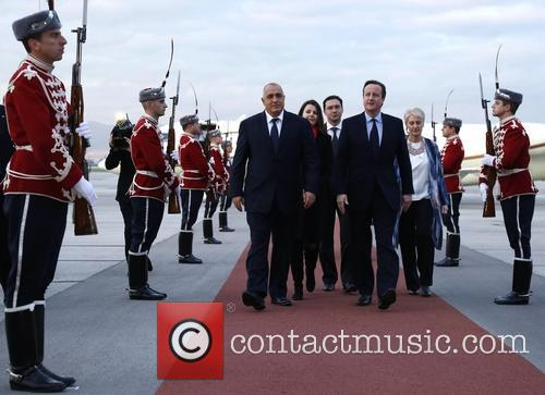 David Cameron and Prime Minister Boyko Borisov 5