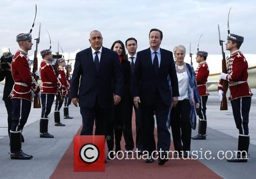 David Cameron and Prime Minister Boyko Borisov 6