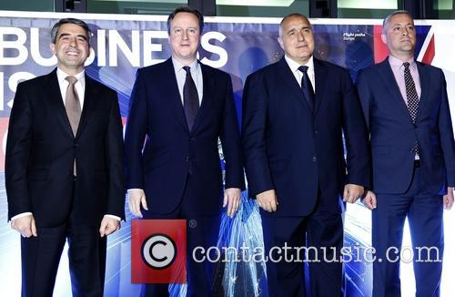 David Cameron and Prime Minister Boyko Borisov 7