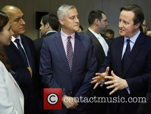 David Cameron and Prime Minister Boyko Borisov 8