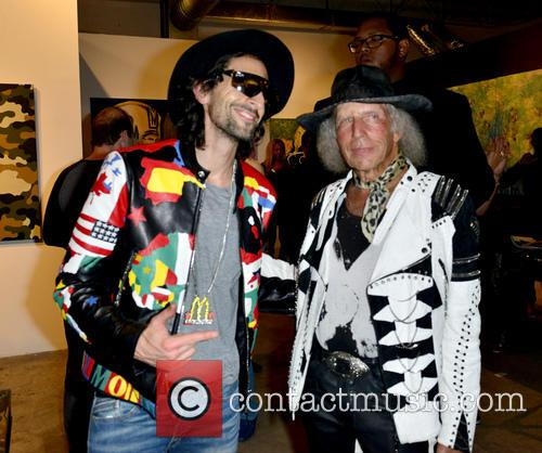 Adrien Brody and James Goldstein