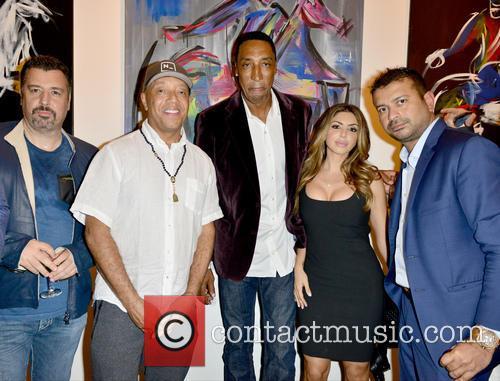 Guest, Russell Simmons, Scottie Pippen, Larsa Younan and Kamal Hotchandani 1