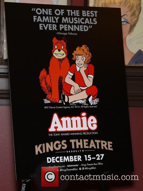 Media day for 'Annie' at Sardi's restaurant