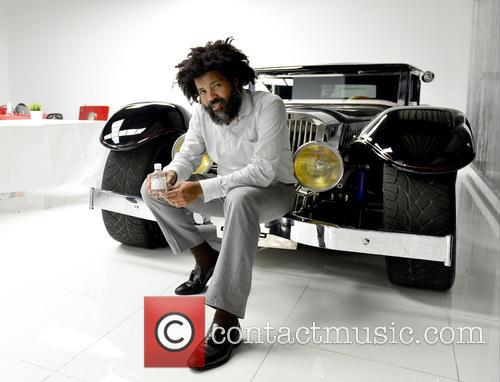Jimmy Jean-Louis visits Elo's Miami Supercar Rooms at...