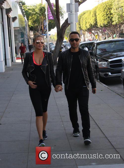 Chrissy Teigen and John Legend 7