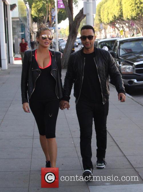 Chrissy Teigen and John Legend 9