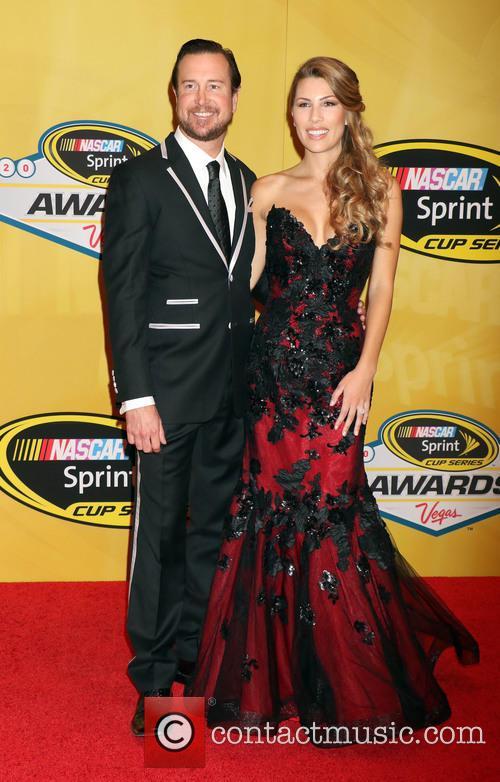 Kurt Busch and Ashley Van Metre 1