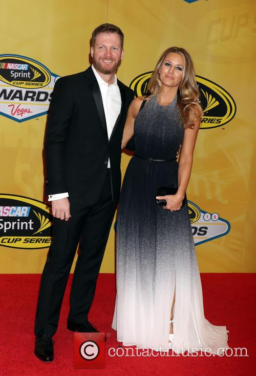 Dale Earnhardt Jr and Amy Reimann 1
