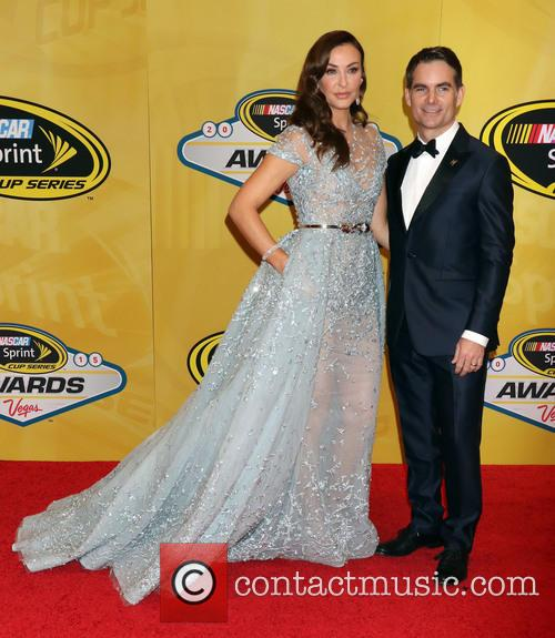 Jeff Gordon and Ingrid Vandebosch 3