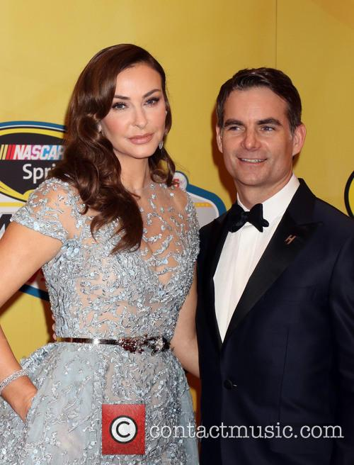 Jeff Gordon and Ingrid Vandebosch 4