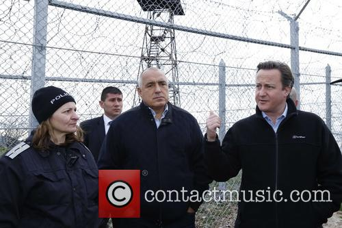 David Cameron and Prime Minister Boiko Borisov 9