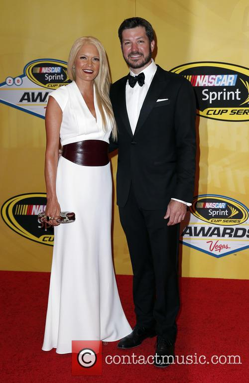 Martin Truex Jr and Sherry Pollex 1