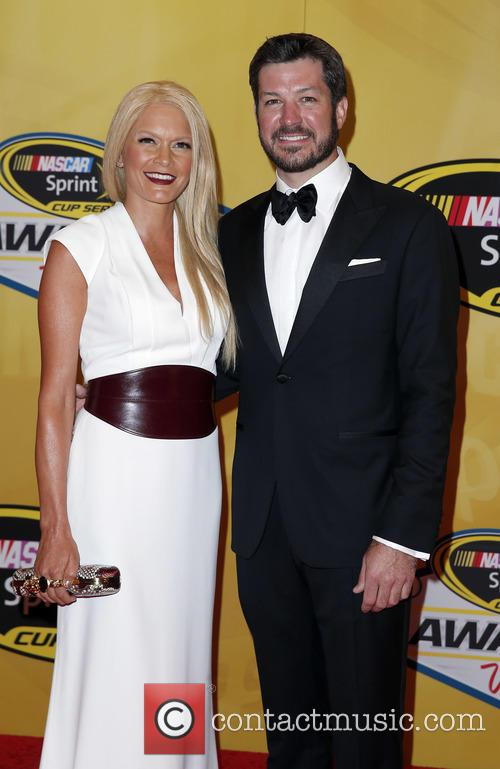 Martin Truex Jr and Sherry Pollex 2