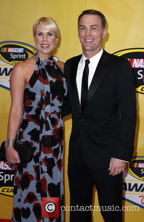 Kevin Harvick and Delana Harvick 1