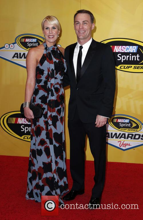 Kevin Harvick and Delana Harvick 2