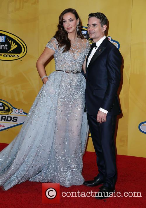 Jeff Gordon and Ingrid Vandebosch 4