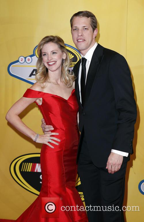 Brad Keselowski and Paige White 1