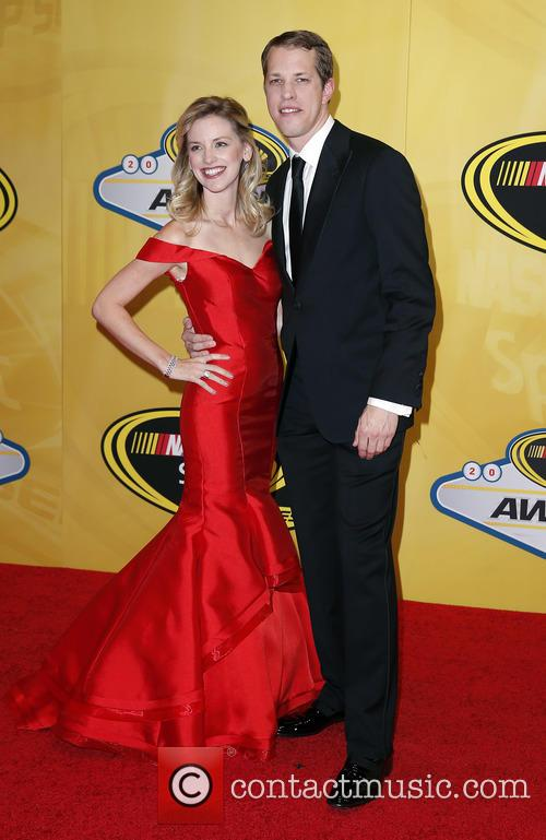 Brad Keselowski and Paige White 2