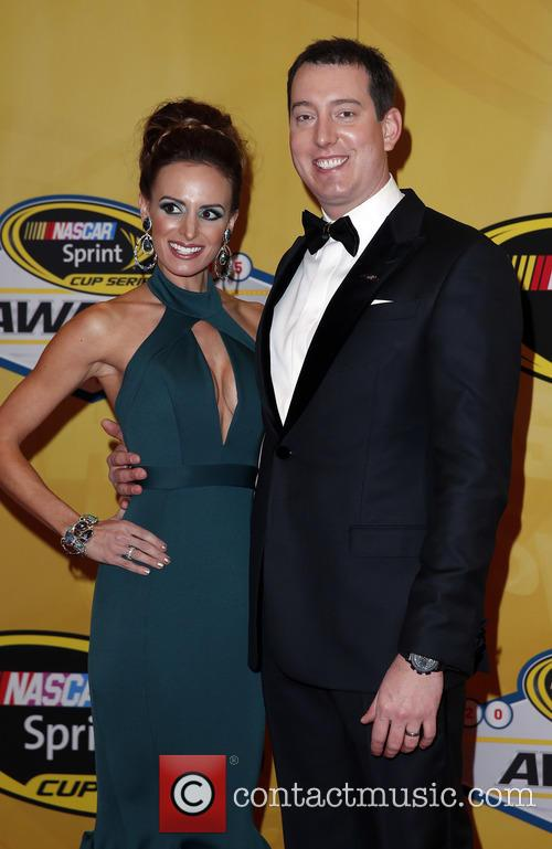 Kyle Busch and Samantha Busch 1
