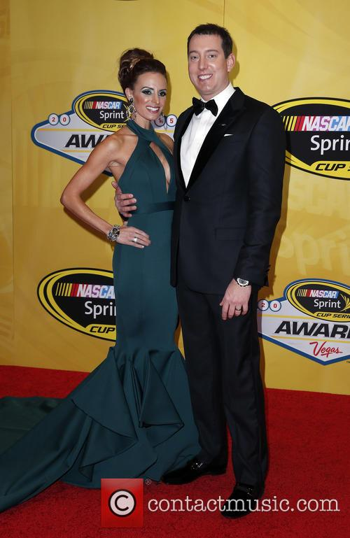 Kyle Busch and Samantha Busch 2