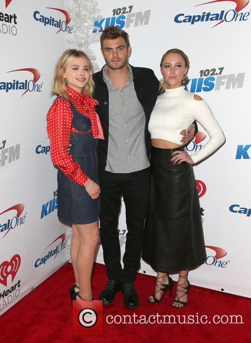 Chloe Grace Moretz, Alex Roe and Maika Monroe 1