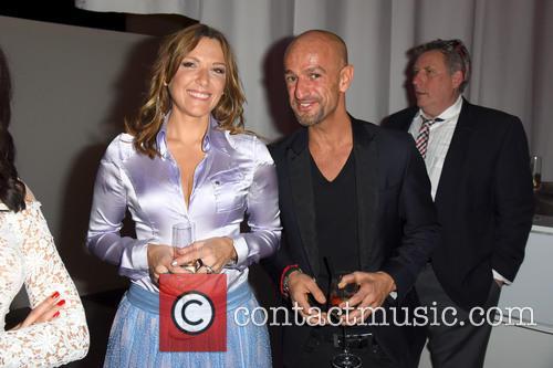 Simone Ballack and Peyman Amin 1
