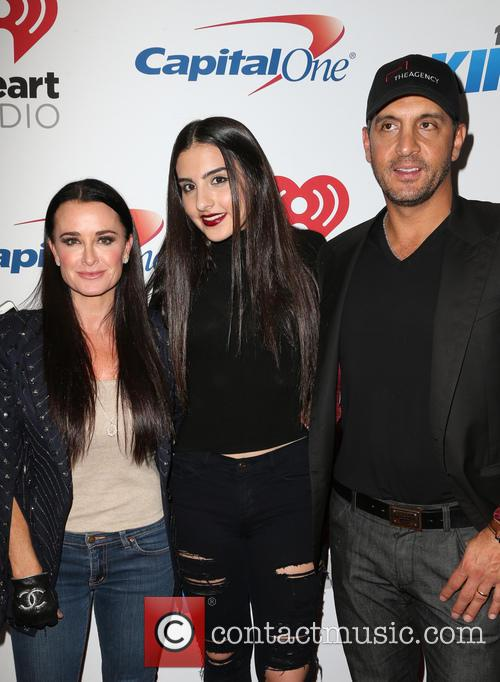 Kyle Richards, Sophia Umansky and Mauricio Umansky 2