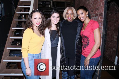 Jasmine Cephas Jones, Phillipa Soo, Mary J. Blige and Renee Elise Goldsberry 3