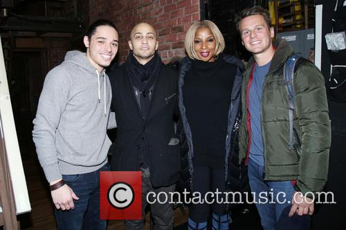 Mary J. Blige, Anthony Ramos and Seth Stewart 4