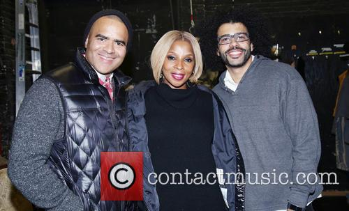 Christopher Jackson, Mary J. Blige and Daveed Diggs 1