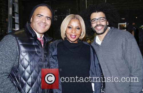 Christopher Jackson, Mary J. Blige and Daveed Diggs 2