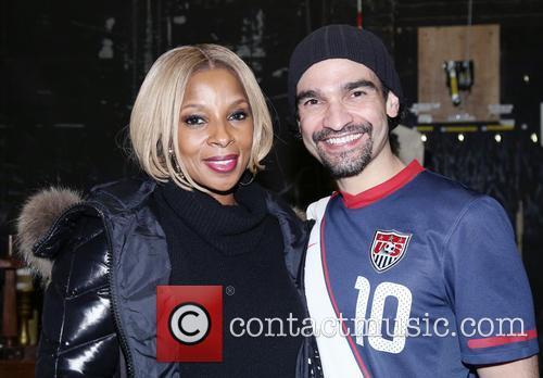 Mary J. Blige and Javier Munoz 6