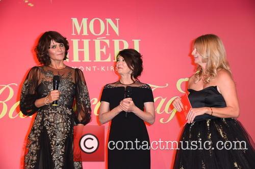 Helena Christensen, Iris Berben and Frauke Ludowig 2
