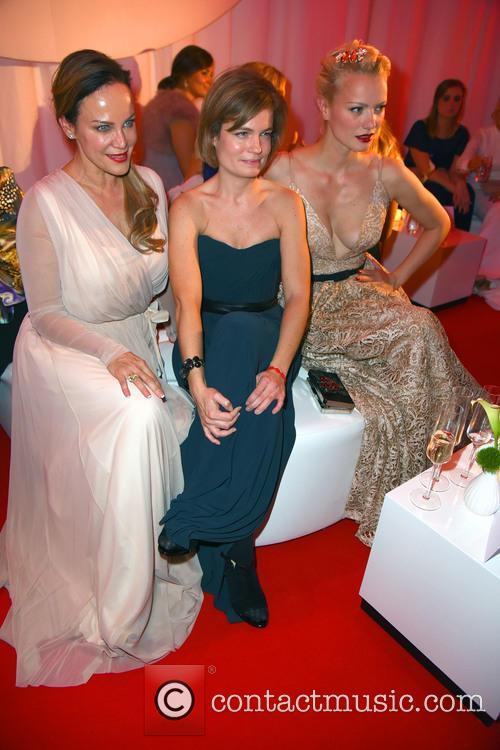 Sonja Kirchberger, Sarah Biasini and Franziska Knuppe 1