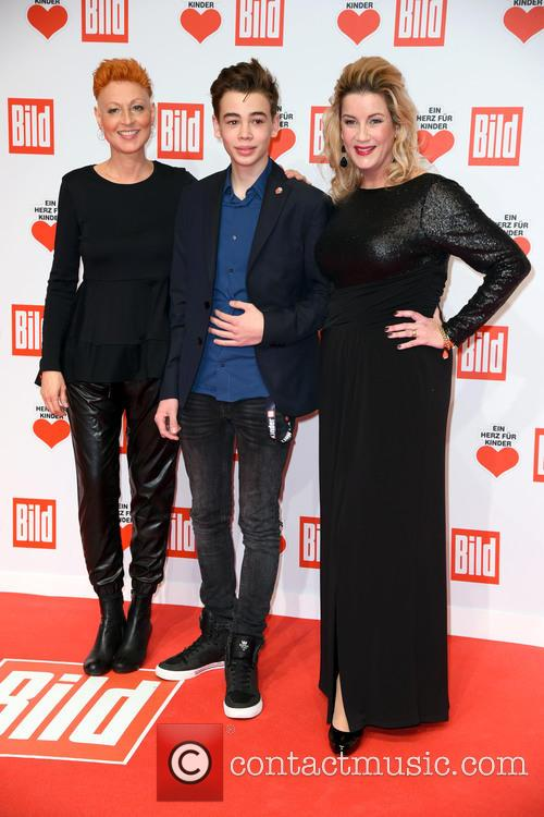 Hendrikje Fitz, Son Arthur and Alexa Maria Surholt 1