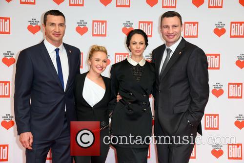 Wladimir Klitschko, Hayden Panettiere, Natalia Klitschko and Vitali Klitscho 6