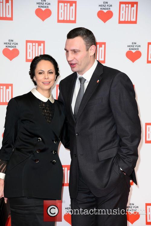 Natalia Klitschko and Vitali Klitscho 1