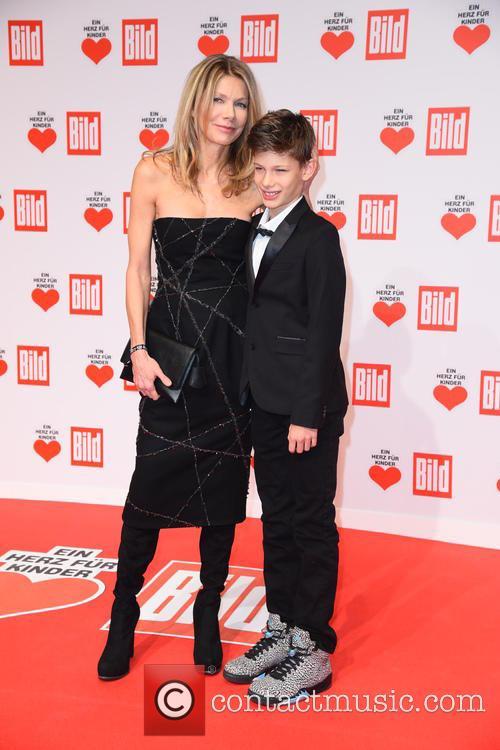 Ursula Karven and Son Liam 2